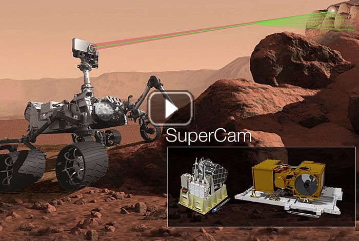 Curiosity ChemCam finds high-silica Mars rocks