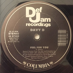 DAVY D:FEEL FOR YOU(LABEL SIDE-A)
