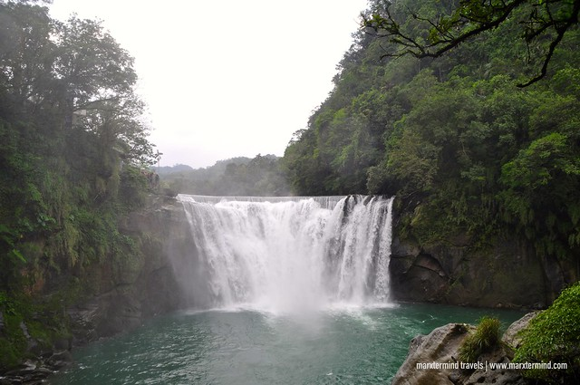 Shifen Waterfalls in Taiwan