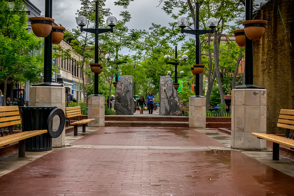 Pearl St. Mall, Boulder, CO