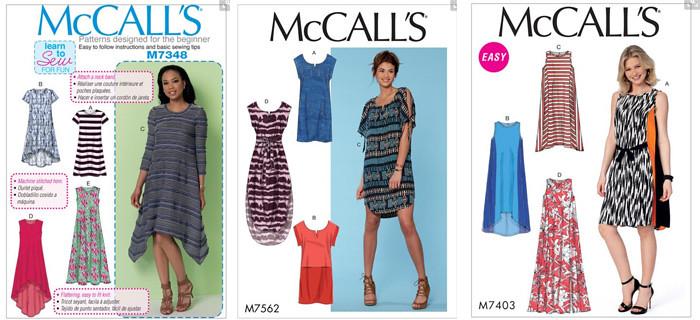 McCalls dresses
