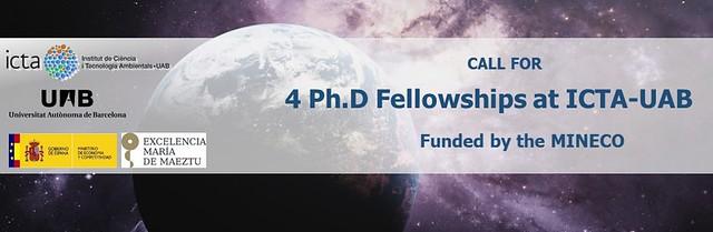 4 PhD at ICTA-UAB