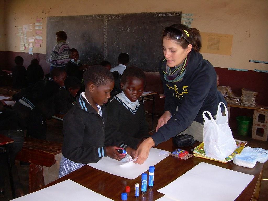 Campo di lavoro Swaziland 2008
