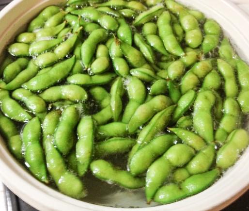 茹で枝豆のお湯の塩分量は4%