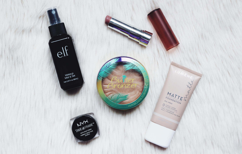 vain viisi meikkituotetta