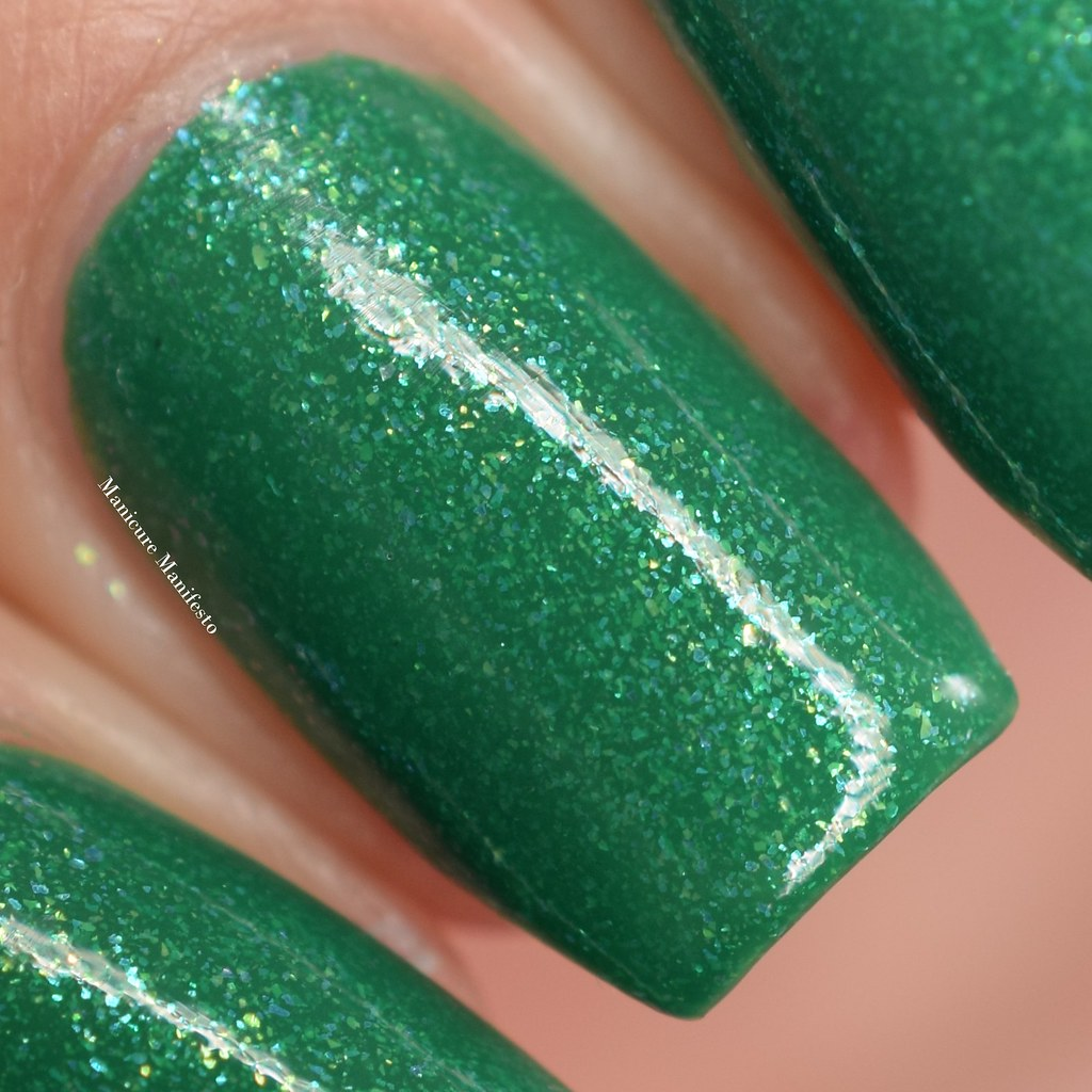 Great Lakes Lacquer I Miss Grass swatch
