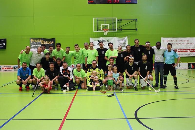 20 Jahre UHC Waldkirch-St.Gallen: Jubiläumsspiel und Aftergame-Event