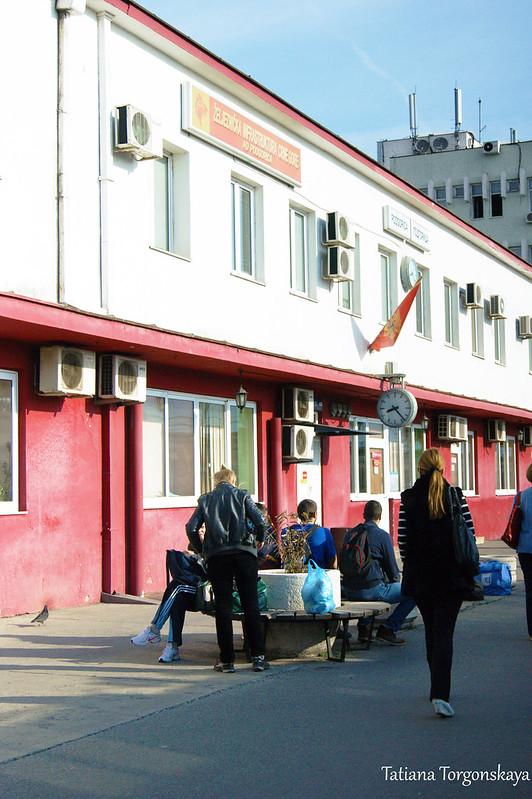 Железнодорожный вокзал в Подгорице