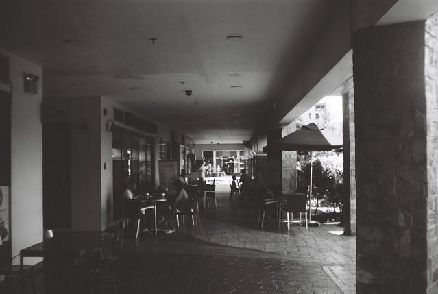 Occupied Hallway