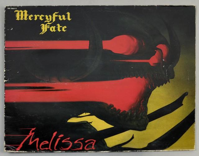 "MERCYFUL FATE MELISSA BERNETT FRANCE 12"" LP ALBUM VINYL"