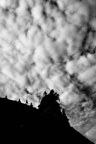 Cabalgando en el cielo