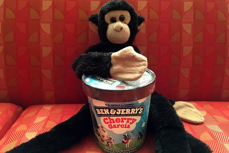 Monkey likes Cherry Garcia