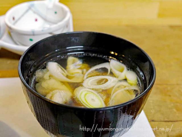 釜石竹寿司 鯛の荒汁