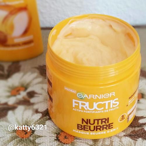 Test de la gamme Nutri Beurre de Fructis (+ concours)