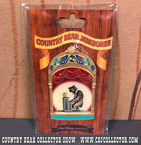 2013 Walt Disney Imagineering LE Pin of Gomer - Country Bear Collector Show #109