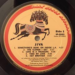 JIVA:JIVA(LABEL SIDE-A)