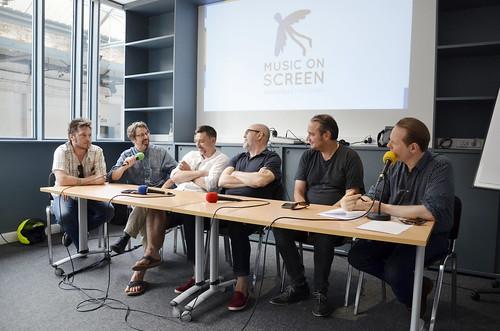 Music On Screen : Renaud Mayeur, Jean-Marc Lederman, Stefan Liberski, Gabriel Alloing, Jean-Yves Roubin & Benjamin Schoos