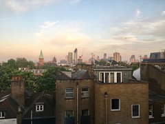 View from Room 404 in London