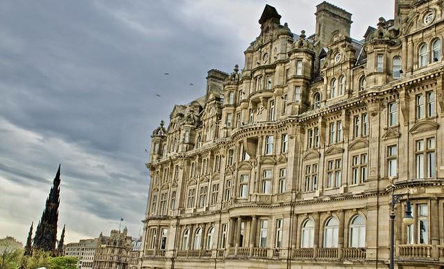 The grand Balmoral Hotel