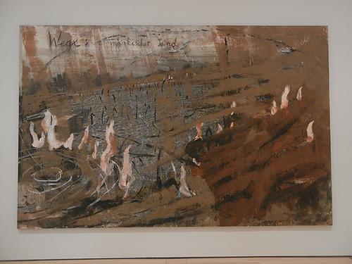 DSCN8966 - Wege_ märkischer Sand (Ways_ March Sand), 1980, Anselm Kiefer, SFMOMA