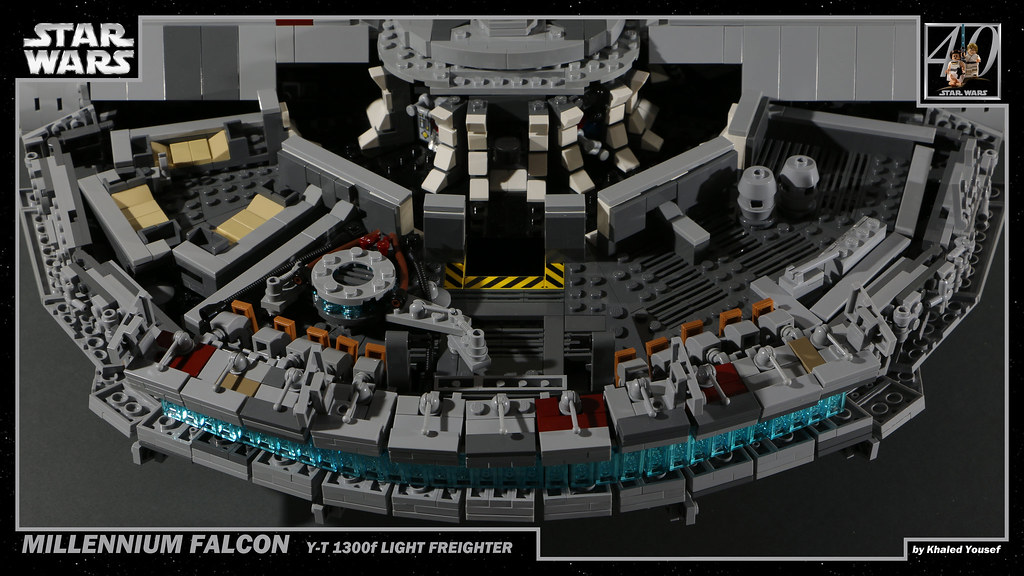 MOC] Millennium Falcon (40th Anniversary) - LEGO Star Wars ...