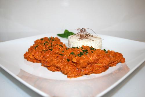 60 - Chicken Makhani - Side view / Seitenansicht