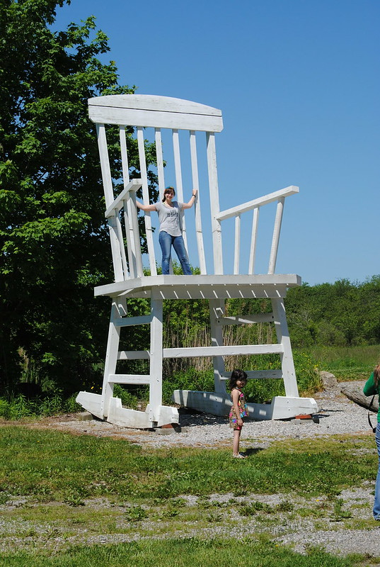 Large Rocking Chair, Austinburg, Ohio