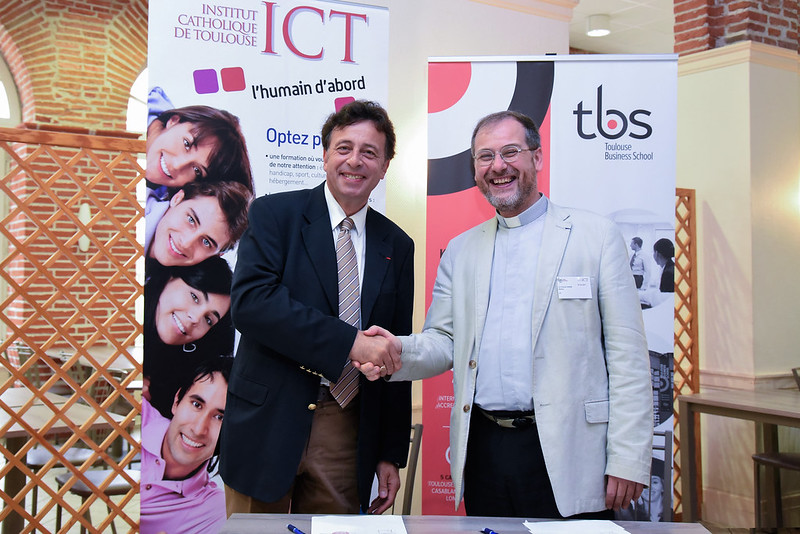 Partenariat TBS et l'Institut Catholique de Toulouse
