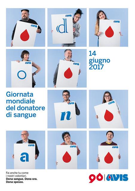 Manifesti Giornata Mondiale del Donatore di Sangue