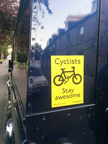 Cyclists stay awesome | by Cycling Mollie
