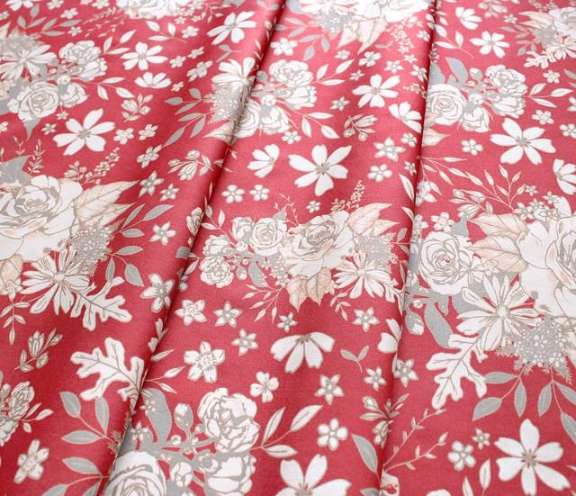 Art Gallery Fabrics Soulful Floral Universe Auburn