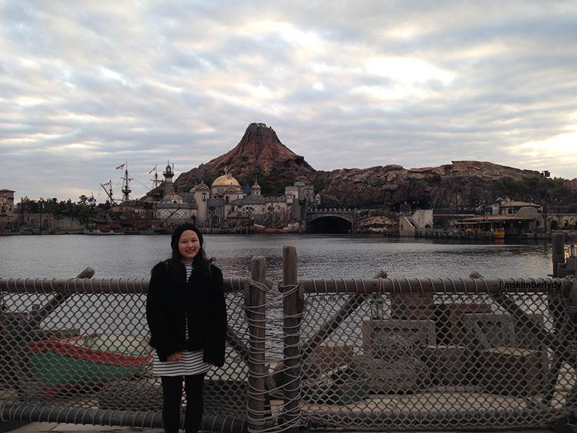 Tokyo Disneysea Volcano