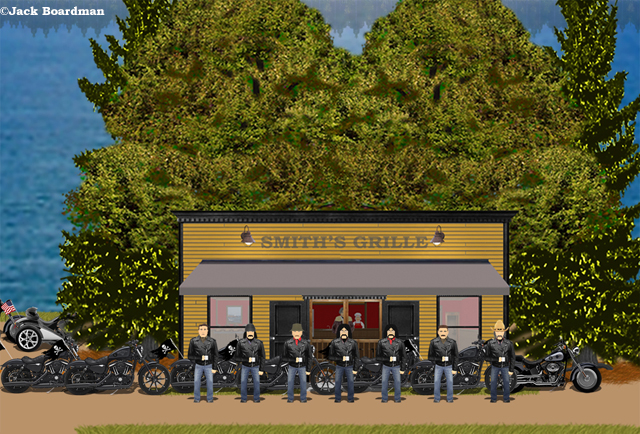 Outside Smith's Grille ©Jack Boardman