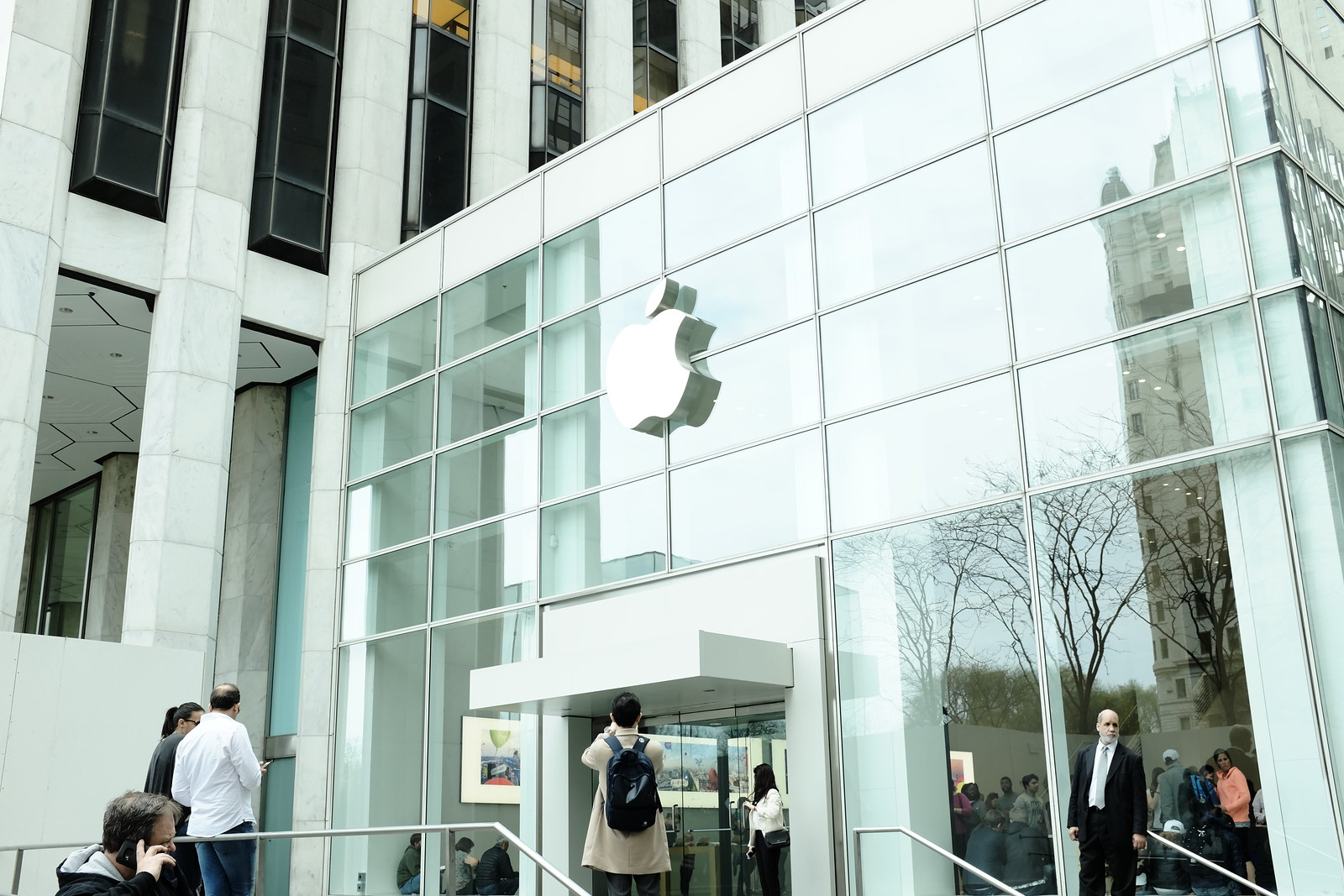 Apple Store 5th Avenue - Temporary Location -