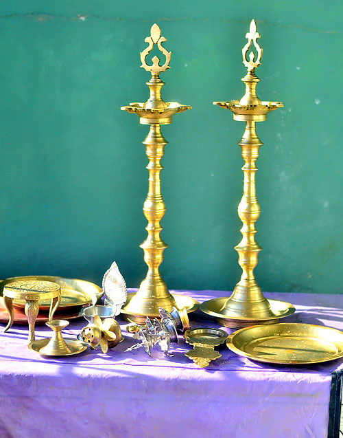Thiruvilakku pooja at home
