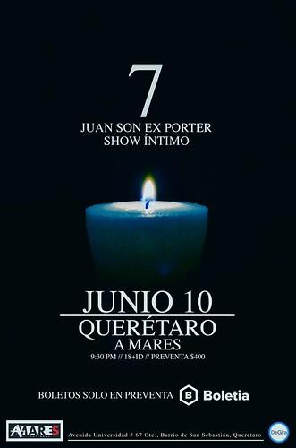 Juan Son en Querétaro @A Mares
