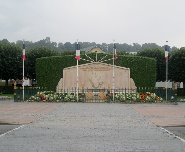 Honfleur War Memorial
