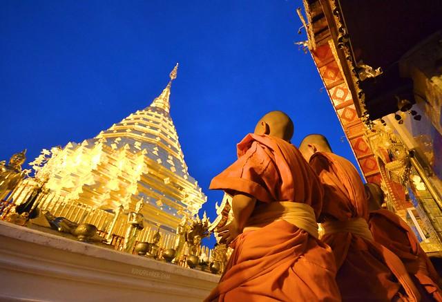 chiang mai itinerary thailand doi suthep