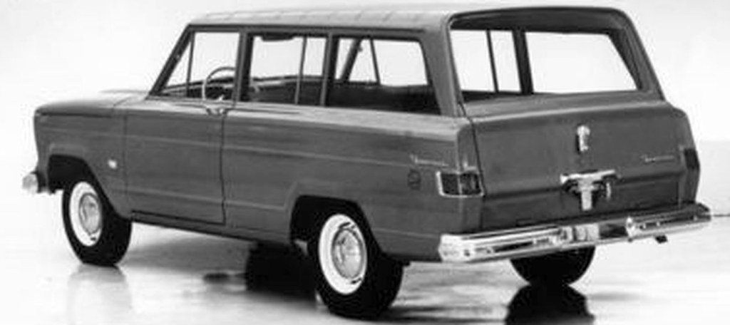 1963 Jeep Wagoneer 2 Door Wagon Kaiser Jeep Corp Press P Flickr