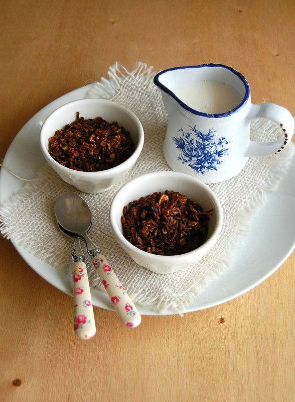 Chocolate granola / Granola de chocolate