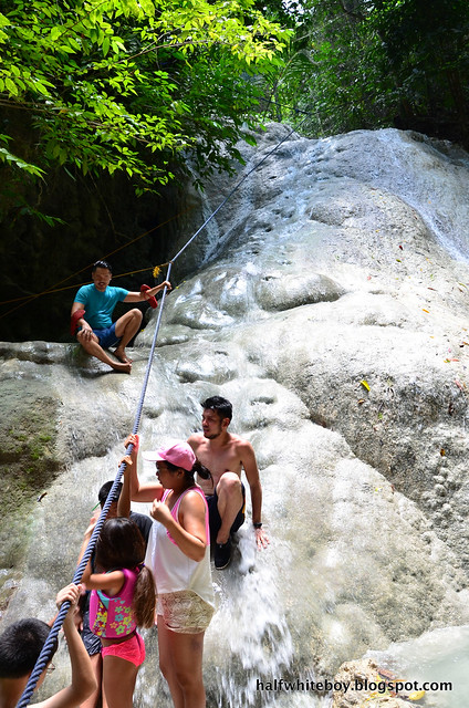 halfwhiteboy - aguinid falls, samboan, cebu 05