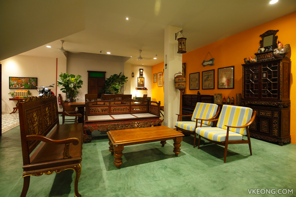 Kapitan Kongsi Hotel Melaka Lounge