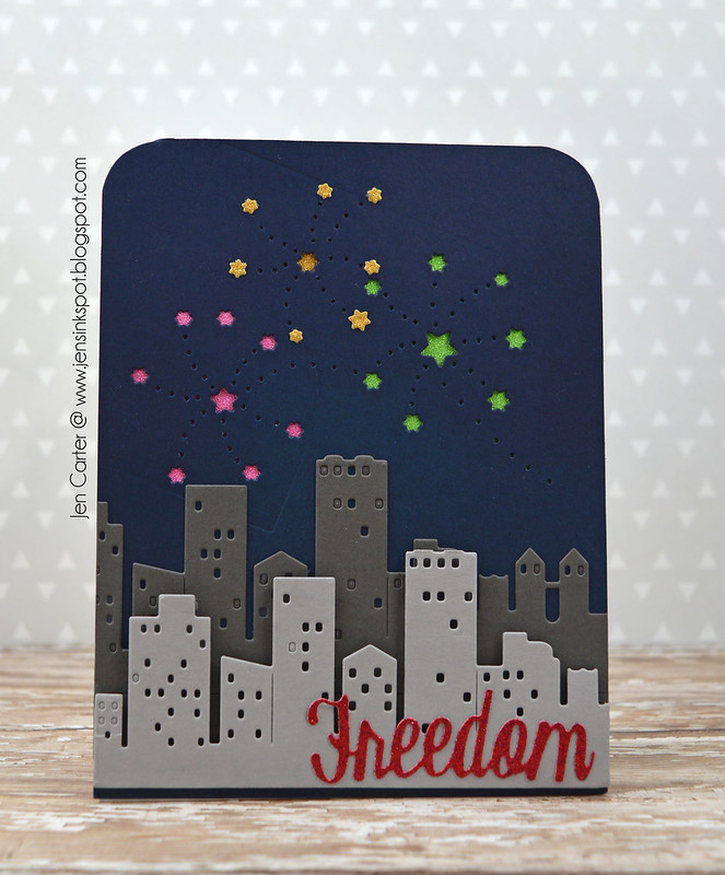 Jen Carter Freedom Fireworks Cityscape Front 7