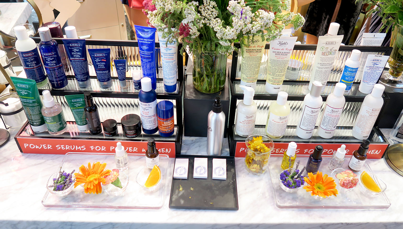 7 Kiehl's Store of the Future - Power Serums - Midnight Recovery - She Sings Beauty by Gen-zel
