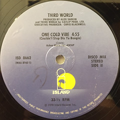 THIRD WORLD:NOW THAT WE FOUND LOVE(LABEL SIDE-B)