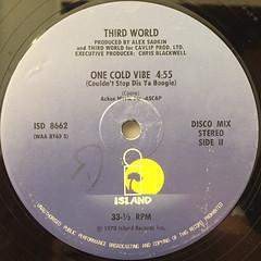 THIRD WORLD:NOW THAT WE FOUND LOVE(LABEL SIDE-B)