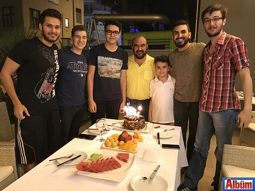 Murat yeni yaşını kutladı