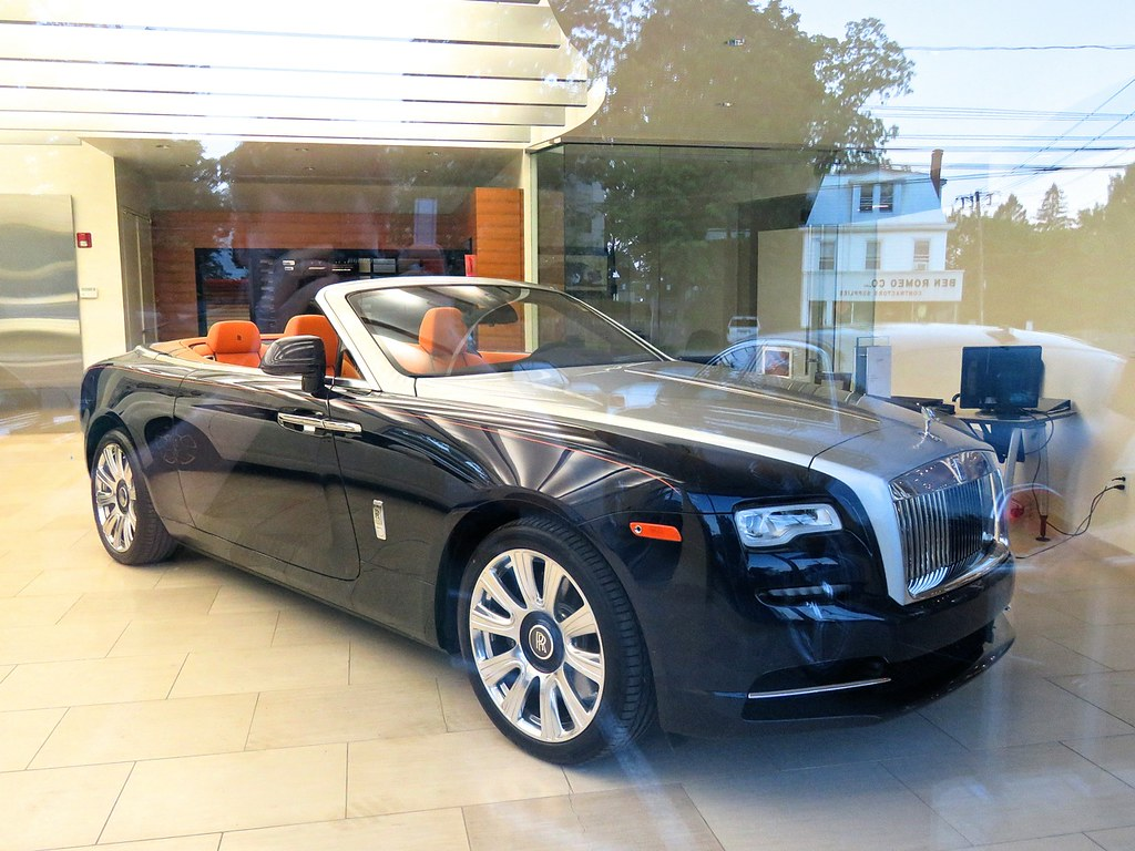 Rolls Royce Dawn at Miller Motorcars
