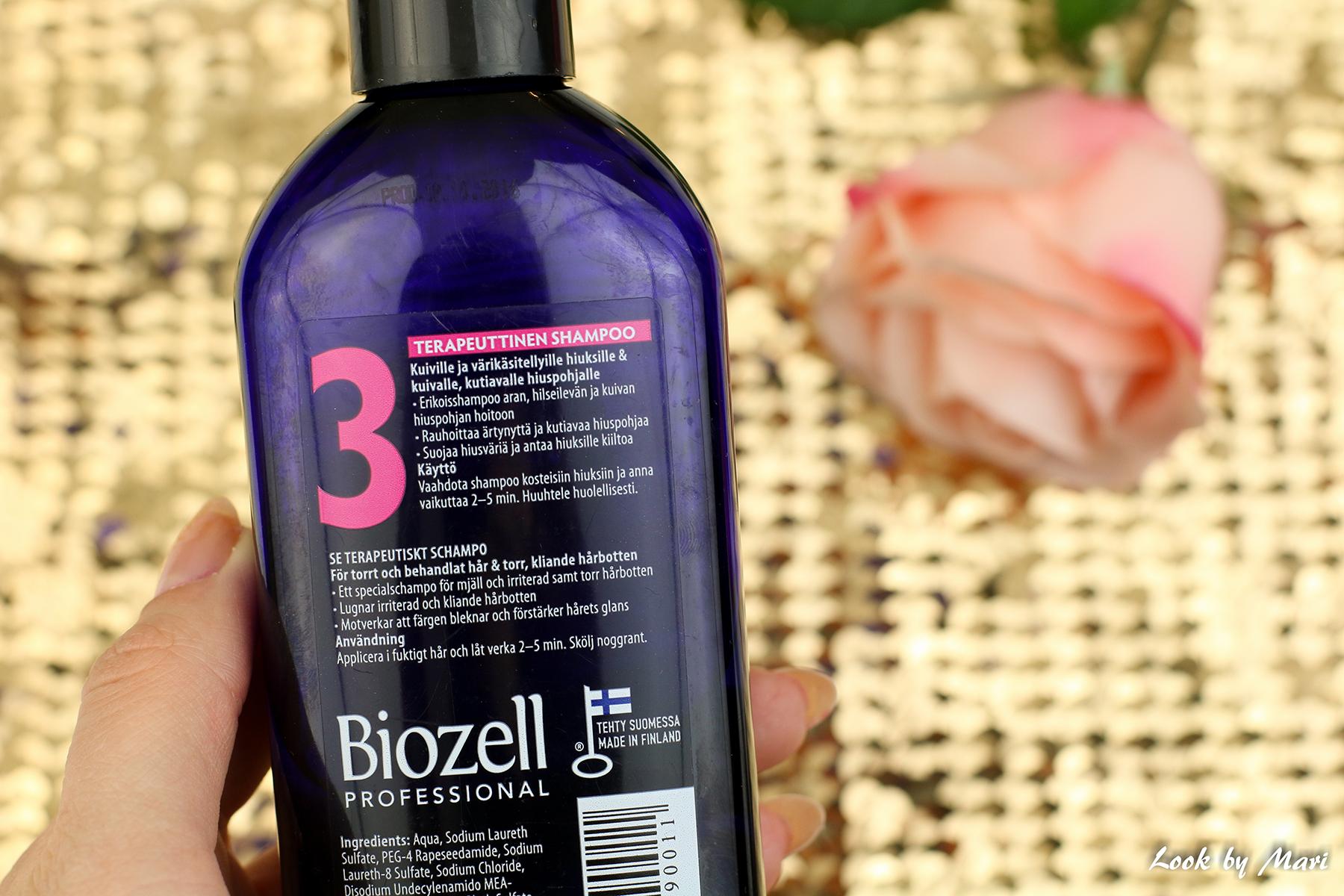 3 biozell therapeutic shampoo 3 kokemuksia review