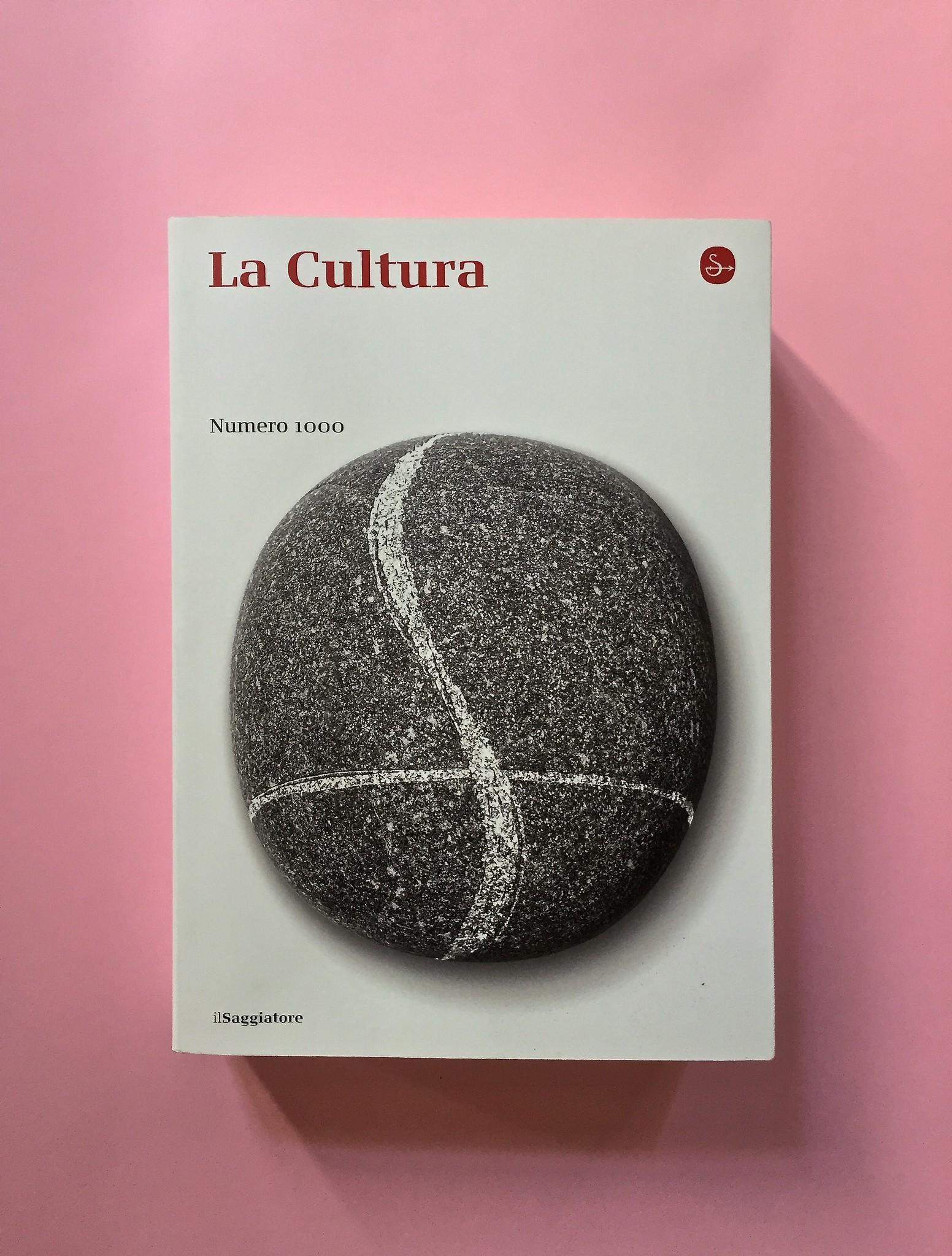 La Cultura, il Saggiatore, Milano 2016. Copertina